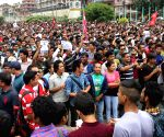 NEPAL-KATHMANDU-PROTEST-IN SUPPORT OF PM KP SHARMA OLI