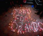 NEPAL-KATHMANDU-ORLANDO SHOOTING-CANDLE LIGHT VIGIL
