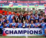 India beat Bangladesh to lift SAFF U-18 football title