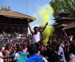 NEPAL KATHMANDU HOLI FESTIVAL