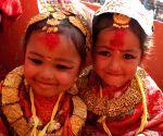 NEPAL-KAVRE-BEL BIBAHA CEREMONY