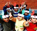 NEPAL KATHMANDU HOLI FESTIVAL CELEBRATION