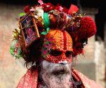 NEPAL KATHMANDU MAHA SHIVARATRI FESTIVAL EVE