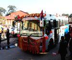 NEPAL-KATHMANDU-KATHMANDU TO BANARAS BUS SERVICE-INAUGURATION