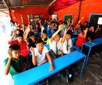 NEPAL KATHMANDU EARTHQUAKE SCHOOL