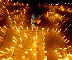 NEPAL KATHMANDU EARTHQUAKE CANDLELIGHT VIGIL