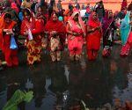 NEPAL-KATHMANDU-CULTURE-CHHATH FESTIVAL