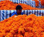 NEPAL KATHMANDU TIHAR FESTIVAL MARKET