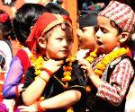 NEPAL KATHMANDU TIHAR CELEBRATION