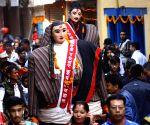 NEPAL-KATHMANDU-NEPAL SAMBAT NEW YEAR 1137-CULTURAL RALLY