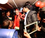 Kathmandu (Nepal): PM Modi flags-off Kathmandu-Delhi Direct Bus Service