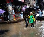 NEPAL KATHMANDU HEAVY RAINFALL
