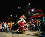 NEPAL KATHMANDU INDRAJATRA FESTIVAL CELEBRATION