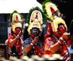 NEPAL KATHMANDU INDRAJATRA FESTIVAL DANCE
