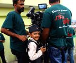 Nepalese child Saugat Bista directs a Nepali film to break the record