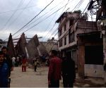 Kathmandu (Nepal): Devastation in Kathmandu