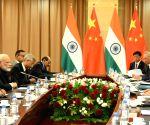Kazakhstan (Astana): Modi, Xi meet in Astana