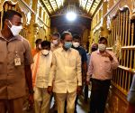 Free Photo:KCR orders for early completion of Yadadri temple renovation