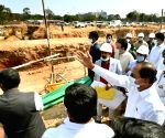 Free Photo: KCR wants work on his dream project to be speeded up.