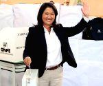 Peru's Keiko Fujimori returns to prison over flight risk