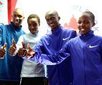 Kenyan athletes' press conference