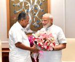 Kerala CM meets PM Modi