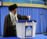 Khamenei votes in Iran's 11th parliamentary elections