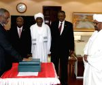 SUDAN KHARTOUM GOVERNMENT LEADERS SWEARING IN CEREMONY