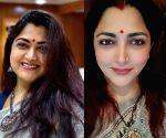 Khushbu Sundar shares gli