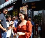Khushi Kapoor seen at Bandra