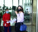 Khushi Kapoor Spotted At Airport Departure