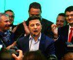 Zelensky leads Ukraine presidential polls with 80% votes