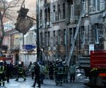 UKRAINE ODESSA COLLEGE FIRE
