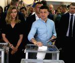 UKRAINE KIEV SNAP PARLIAMENTARY ELECTIONS ZELENSKY