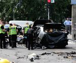 UKRAINE KIEV CAR BLAST OFFICER KILLED