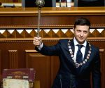 UKRAINE KIEV ZELENSKY INAUGURATION