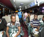 RWANDA KIGALI LIBYAN REFUGEES ARRIVAL