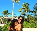 Kim Kardashian flaunts tiny waist in itsy-bitsy bikini