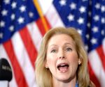 US Democratic Senator Kirsten Gillibrand to run for President