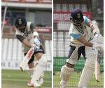 Kohli, Rahane back to training on centre wicket after missing warm-up