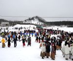 ESTONIA-KOHTLA-NOMME-ASH MOUNTAIN DANCE CELEBRATION