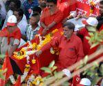 Funeral procession - Govind Pansare