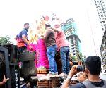 Kolhapurcha Raja's Ganesh idol