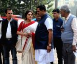BJP delegation meet WB Governor regarding Parui violence