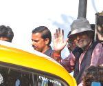 Amitabh Bachchan shoots for Piku