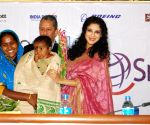 Locket Chatterjee, Nandana Sen, Roopa Ganguly during  '5000 Smiles'