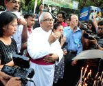 Archbishop Thomas D'Souza prays for the nun gang raped in West Bengal