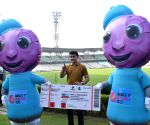 Mascots, 3D mapping, LED boards spice up historic D/N Test