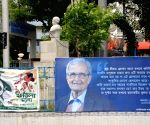 Billboards with Amartya Sen's comments against 'Jai Shri Ram' slogan appear in Kolkata