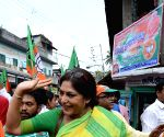 Kolkata: Rupa Ganguly campaigns for BJP